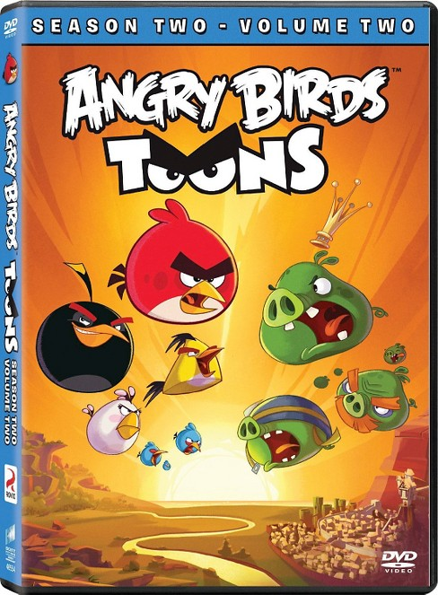 Angry Birds Toons S2, Vol 2 DVD - image 1 of 1