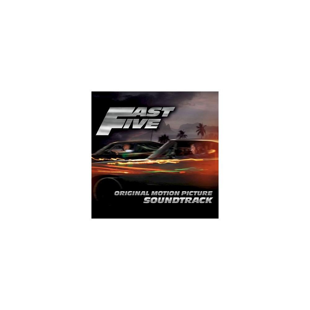 Original Soundtrack - Fast Five (Original Motion Picture Soundtrack) [Explicit Lyrics] (CD)