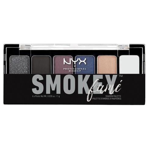 NYX Professional Makeup The Smokey Fum Shadow Palette Smokey - 0.21oz - image 1 of 2