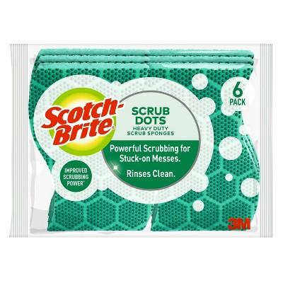 Scotch-Brite® Scrub Dots Heavy Duty Scrub Sponge