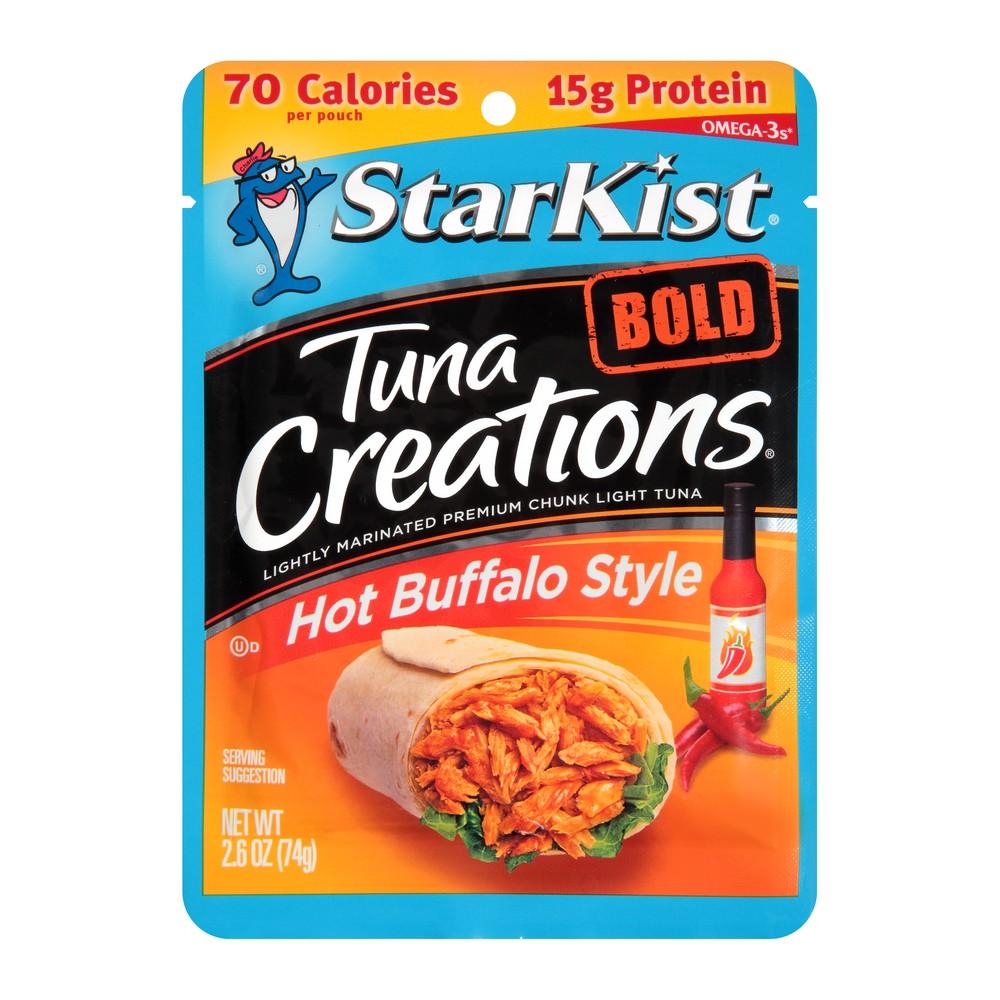 StarKist Tuna Creations Bold Hot Buffalo Style Pouch - 2.6oz