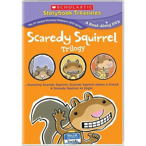 Scaredy Squirrel Trilogy (DVD) - image 1 of 1