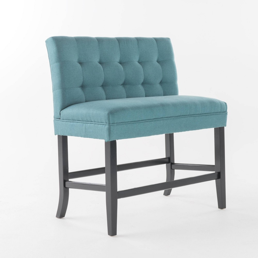 Isaiah Counterstool Bench Teal (Blue) - Christopher Knight Home