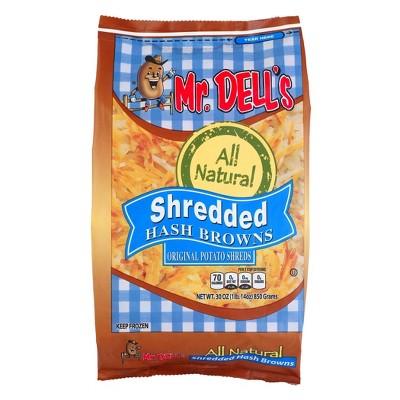 Mr Dells Shredded Frozen Hashbrowns - 30oz