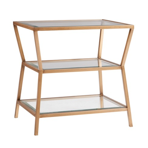 Camila Accent Table - Gold - image 1 of 3