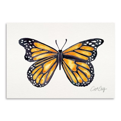 Americanflat Monarch by Cat Coquillette Poster