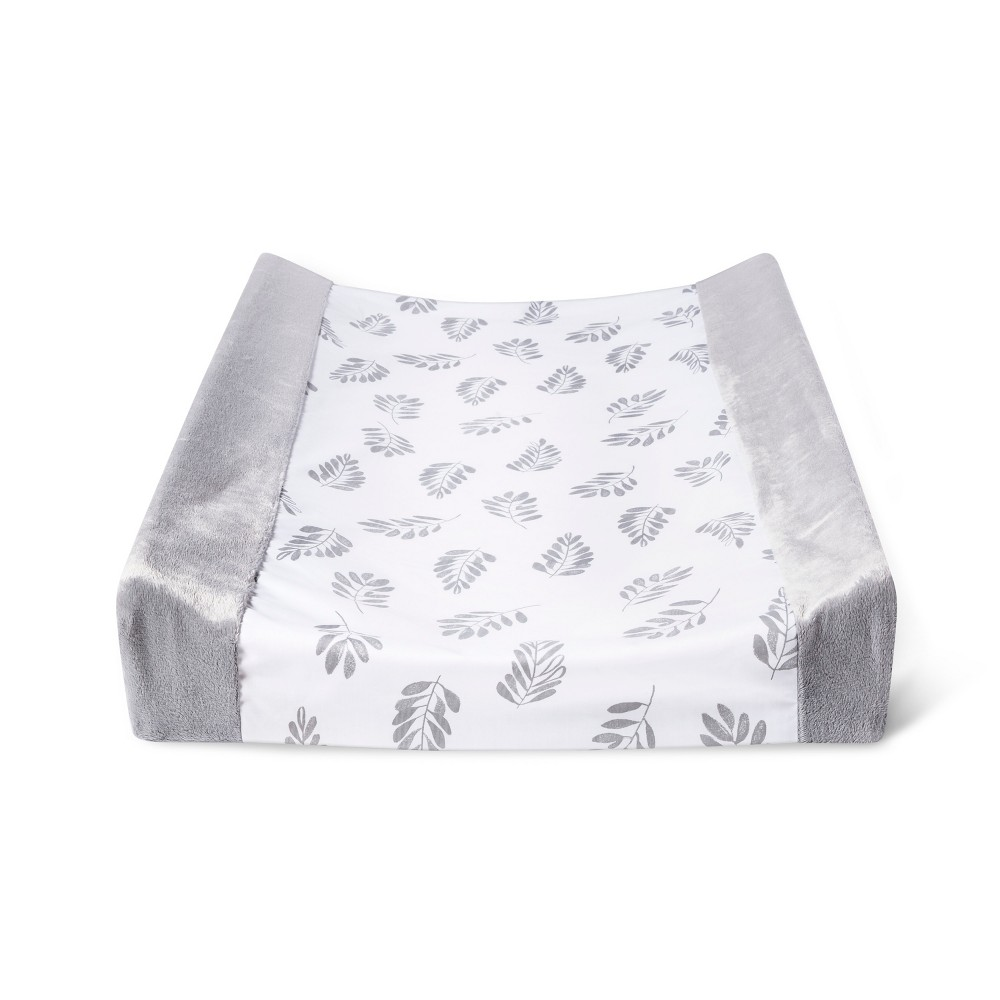 Changing Pad Cover Cloud Island 8482 White Gray