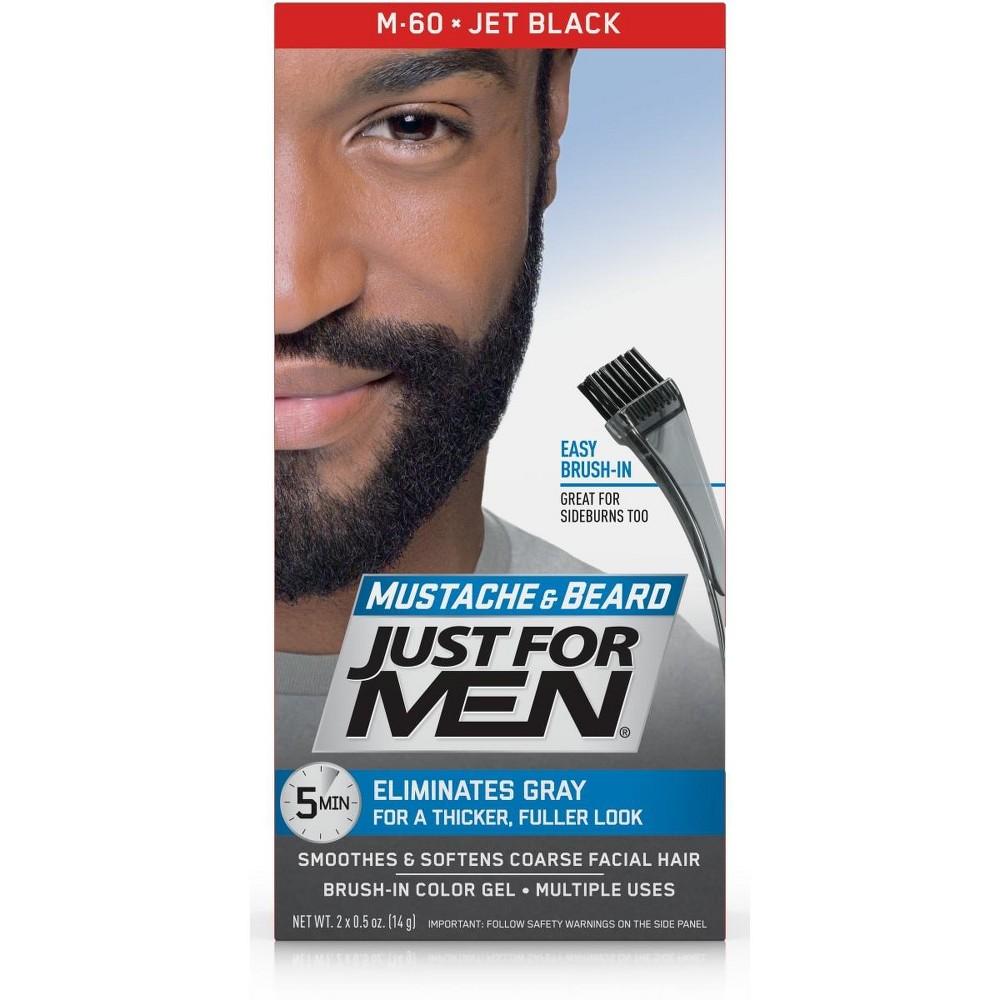 Just For Men Mustache and Beard Jet Black M-60