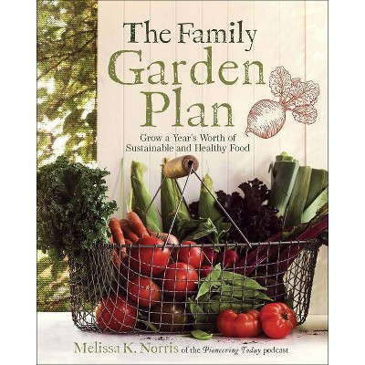 The Family Garden Plan - by  Melissa K Norris (Paperback)