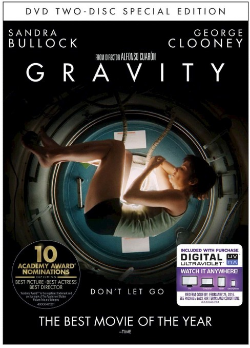 Gravity (Special Edition) (2 Discs) (Includes Digital Copy) (UltraViolet) (dvd_video) - image 1 of 1