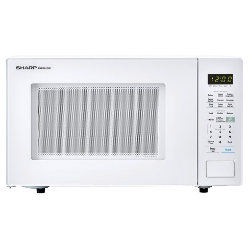 "1.4 Cu Ft 1000w microwave with 12.75"" turntable, Sensor. Bezel-less Design - image 1 of 6"