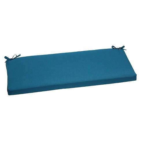 Sunbrella Spectrum Outdoor Bench Cushion - Blue - image 1 of 3