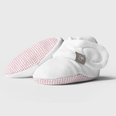Goumi Baby Girls' Organic Cotton Drops Boots - Pink 0-3M
