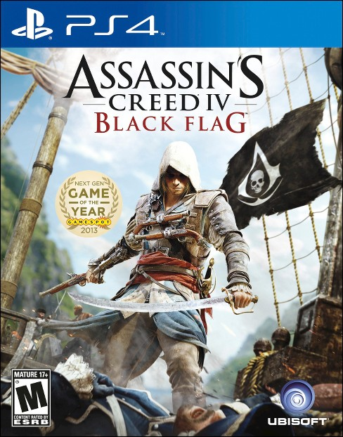 Assassin's Creed IV: Black Flag PRE-OWNED PlayStation 4 - image 1 of 1