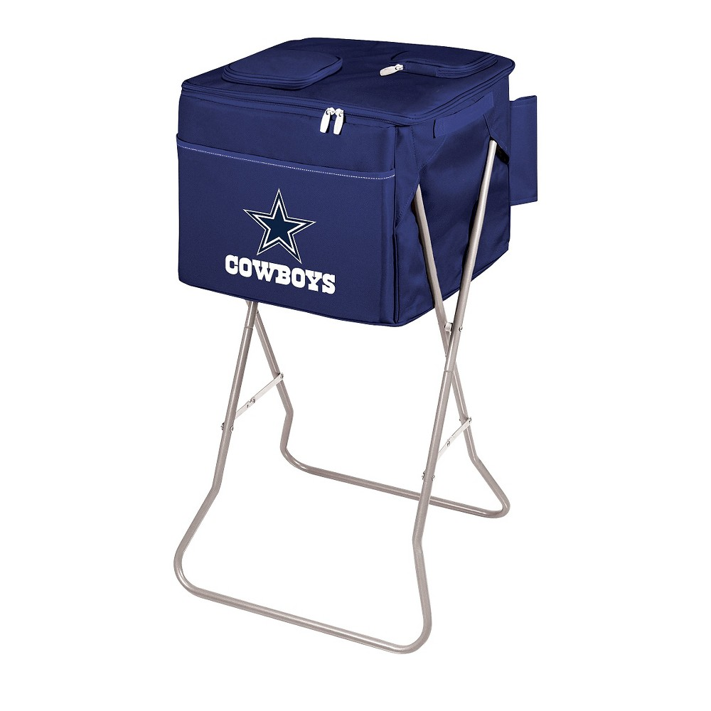 Dallas Cowboys - Party Cube Portable Standing Cooler by Picnic Time (Navy)