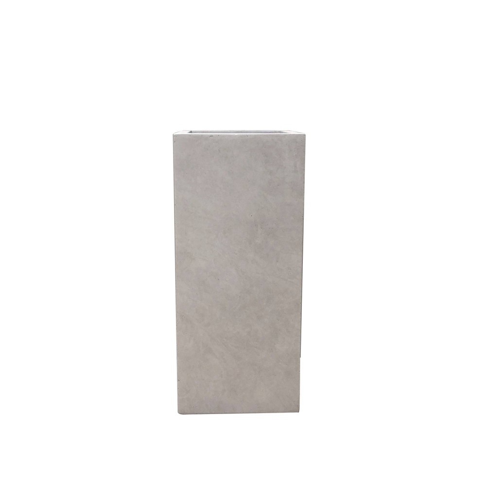Kante Lightweight Durable Modern Tall Square Outdoor Planter Weathered Concrete - Rosemead Home & Garden, Inc. Kante Lightweight Durable Modern Tall Square Outdoor Planter Weathered Concrete - Rosemead Home and Garden, Inc. Gender: unisex.