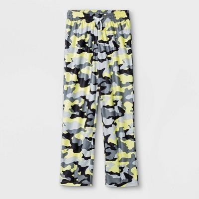 Boys' Camo Pajama Pants - Cat & Jack™ Gray