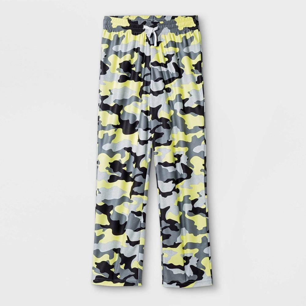Boys 39 Camo Pajama Pants Cat 38 Jack 8482 Gray Xl