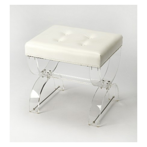 Butler Specialty Morena Vanity Stool Clear Acrylic - image 1 of 1