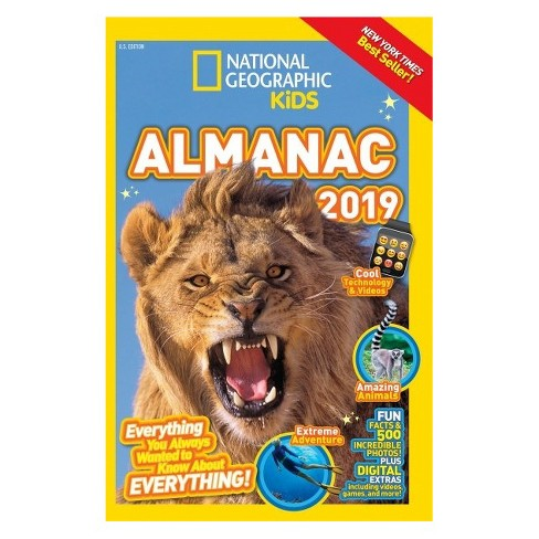 National Geographic Kids Almanac (Paperback) - image 1 of 1