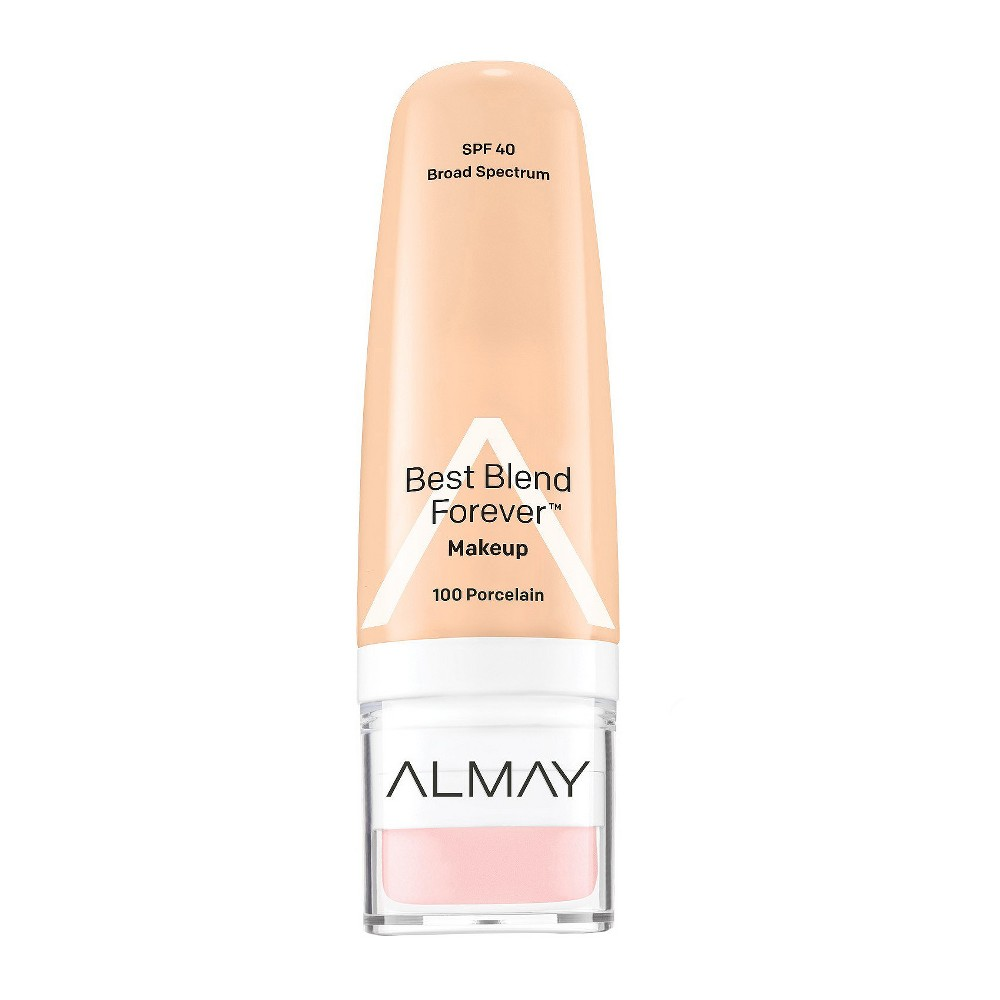 Image of Almay My Best Blend Forever Makeup 100 Porcelain - 1 fl oz