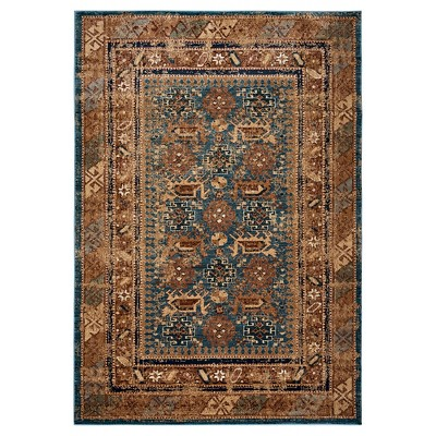 5'3 x7'7  Ombre Design Area Rug Brown - Rizzy Home