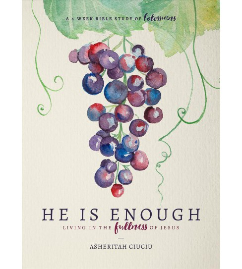 He Is Enough : Living in the Fullness of Jesus, A 6-Week Bible Study on Colossians -  (Paperback) - image 1 of 1