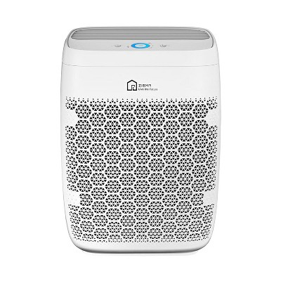 Zigma Aerio-300 Large Room 1580 Sq Ft Smart 5-in1 HEPA Air Purifier for Home, Controls Dust, Smoke, Allergens, w/ 3 Stage Filtration & App, White