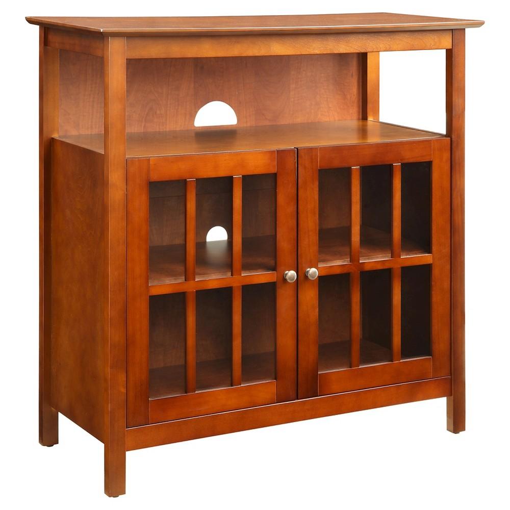 Big Sur Highboy TV Stand, Wood