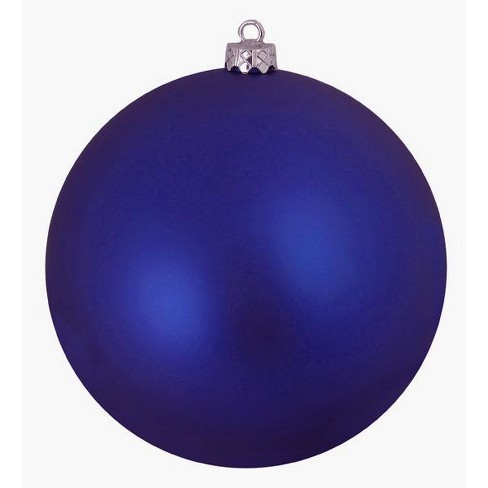 "Northlight Royal Blue Shatterproof Matte Christmas Ball Ornament 8"" (200mm) - image 1 of 1"