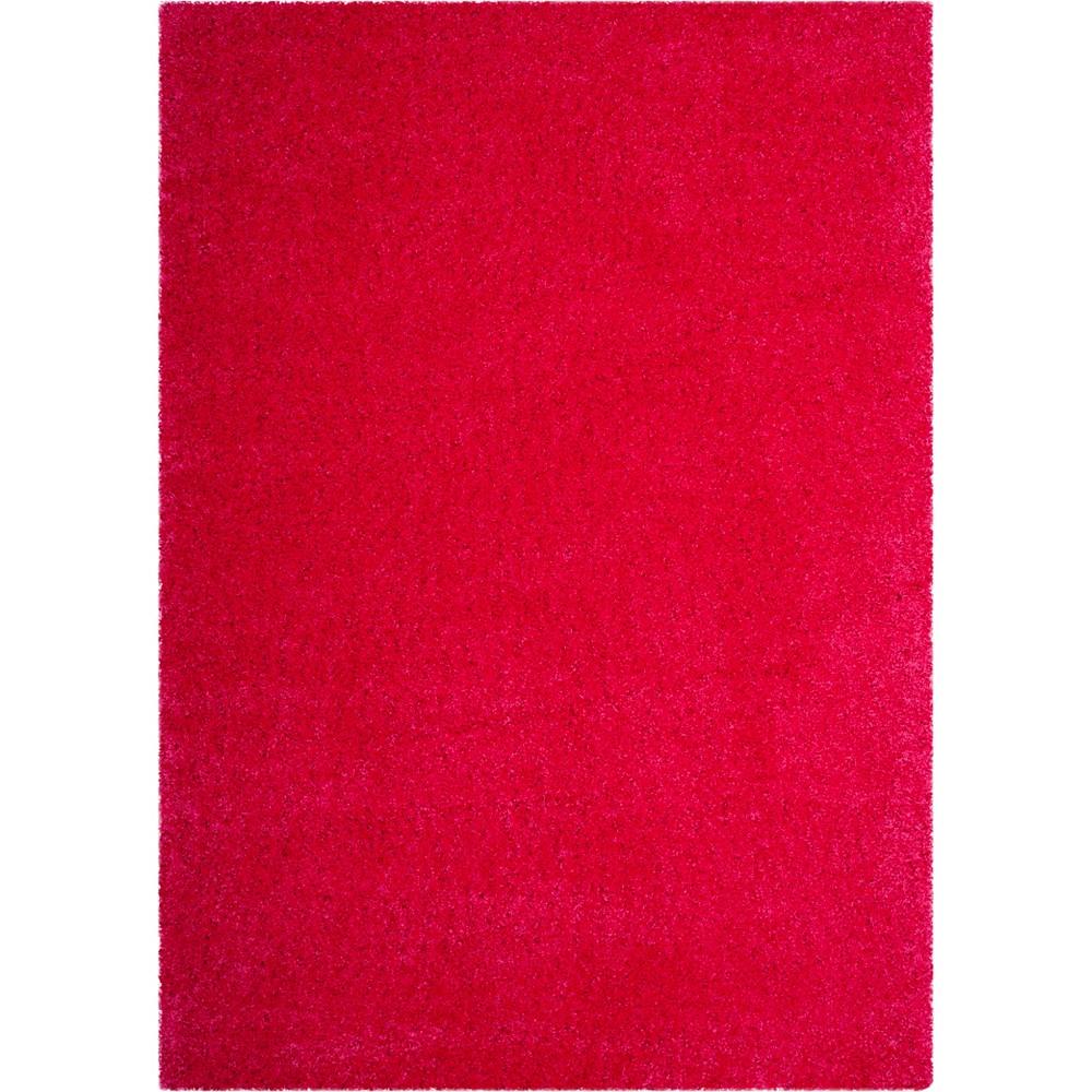 8'X10' Solid Loomed Area Rug Fuchsia/Light Gray (Pink/Light Gray) - Safavieh