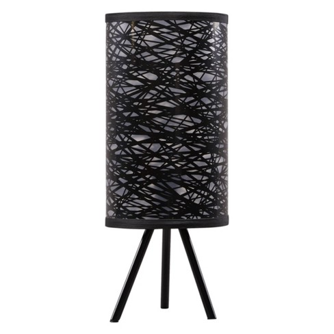 Nettie Metal Table Lamp Black Lamp Only Signature Design By