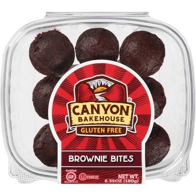 Canyon Bakehouse Gluten Free Brownie Bites - 6.35oz