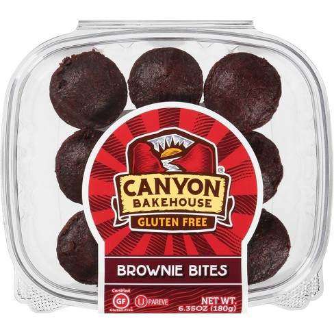 Canyon Bakehouse Gluten Free Brownie Bites - 6.35oz - image 1 of 4
