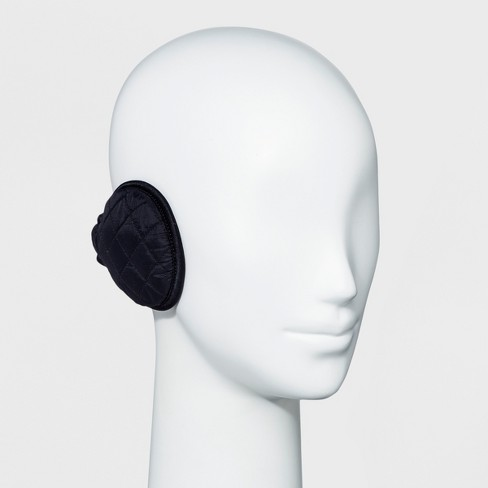 Degrees by 180s Women's Puffy Ear Warmer - Black - image 1 of 2