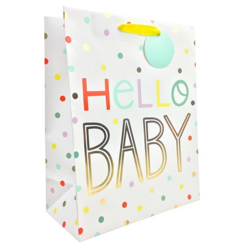 "Large ""Hello Bay"" Gift Bag - Spritz™ - image 1 of 1"