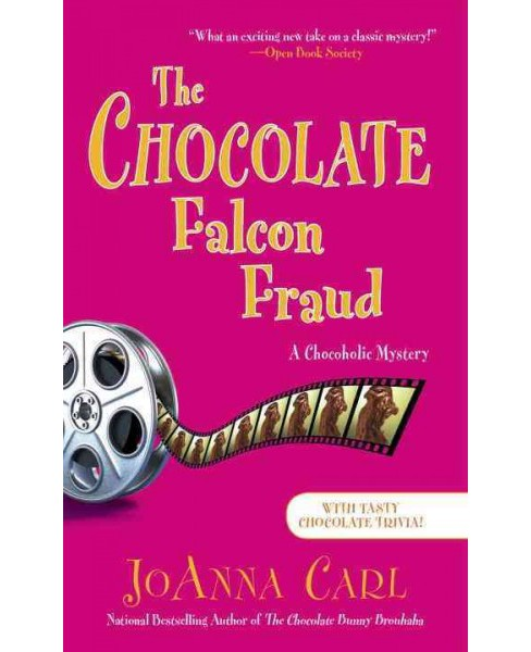 Chocolate Falcon Fraud (Reprint) (Paperback) (Joanna Carl) - image 1 of 1