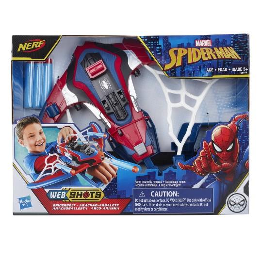 NERF Marvel Spider-Man Spiderbolt Blaster image number null