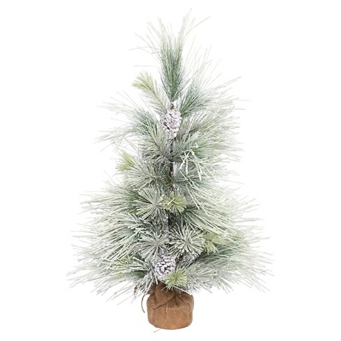 3ft Unlit Artificial Christmas Tree Slim Norway Pine - image 1 of 1