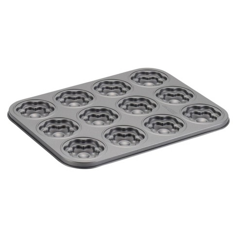 Cake Boss 12 Cup Non-stick Novelty Bakeware Flower Molded Cookie Pan - image 1 of 3