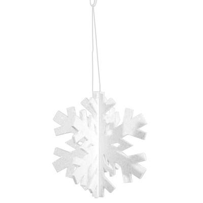 Gallerie II Glitter 3D Snowflake Ornament