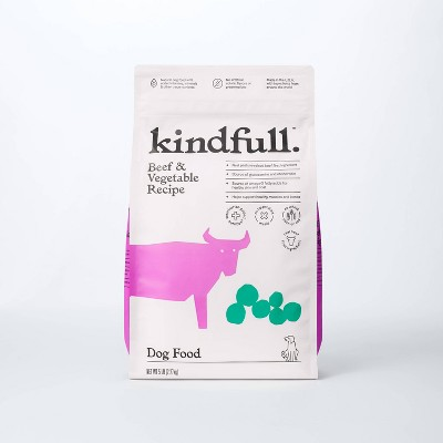 Beef and Vegetable Recipe Dry Dog Food - Kindfull™