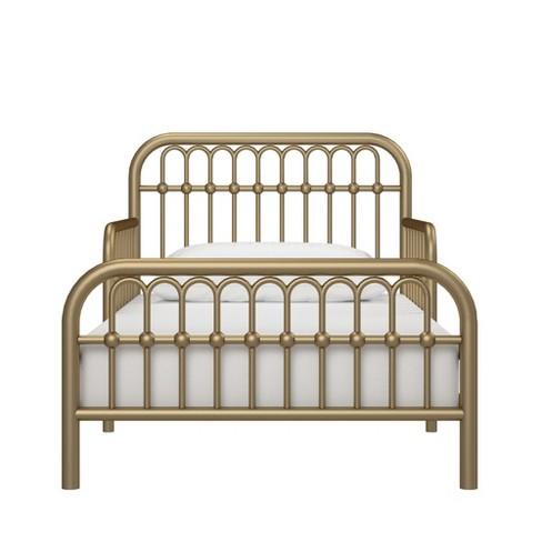 best service b5b45 c3201 Monarch Hill Ivy Metal Toddler Bed Gold - Little Seeds