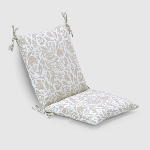 Garden Party Outdoor Chair Cushion Tan - Opalhouse™ - image 1 of 3