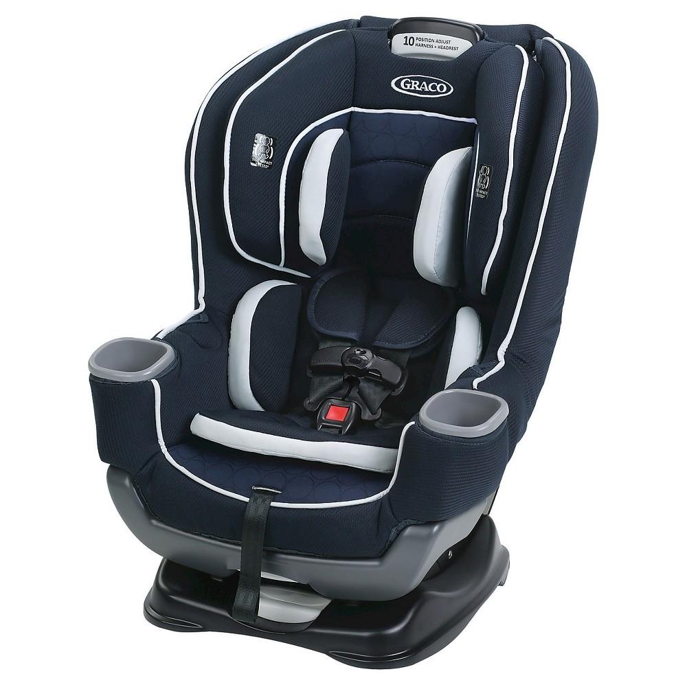 Graco Extend 2 Fit 65 Convertible Car Seat - Campaign, Black