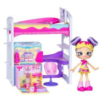 Shopkins Lil Secrets - Rainbow Kates Bedroom Hideway Playset
