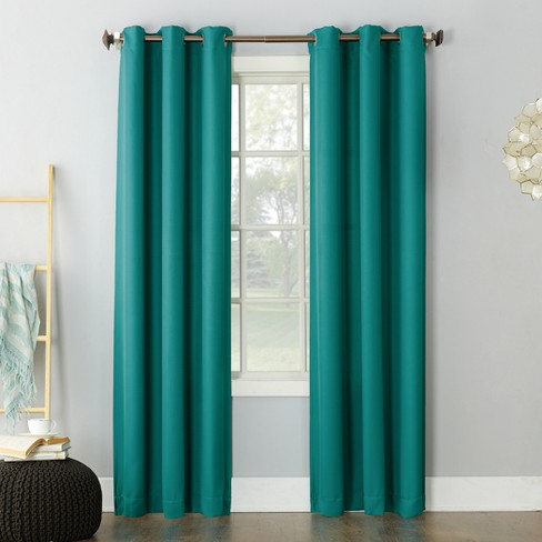 Montego Casual Grommet Top Curtain Panel - No. 918 - image 1 of 4