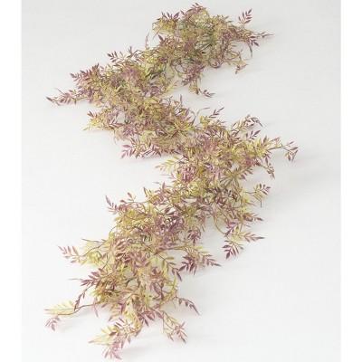 """Sullivans Artificial Mini Wisteria Garland 72""""L Purple"""