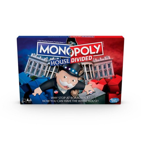 Monopoly House Divided Board Game - image 1 of 4