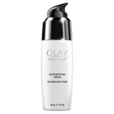 Olay Regenerist Regenerating Serum, Fragrance-Free Light Gel Face Moisturizer - 1.7 fl oz